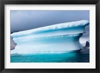 Framed Antarctica, Pleneau Island, Icebergs