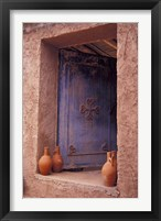 Framed Berber Village Doorway, Morocco