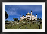 Framed Gilded dome, architecture of Brunei, Asia