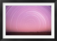 Framed Africa, Botswana, Linyanti Swamps. Star trails