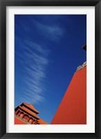 Framed Forbidden City, Beijing, China