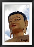 Framed Buddha Dordenma Statue, Thimphu, Bhutan