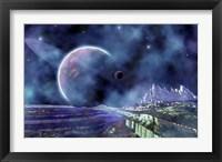 Framed Fantasy Alien World