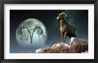Framed Aries is the first astrological sign of the Zodiac