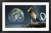 Framed Capricorn is the tenth astrological sign of the Zodiac