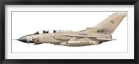 Framed Illustration of a Panavia Tornado GR1 with Gulf War markings
