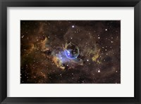 Framed Bubble nebula