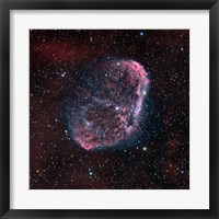 Framed Crescent Nebula