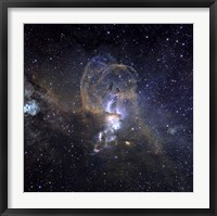 Framed Loops of NGC 3576