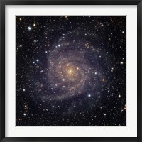 Framed IC 342, an intermediate spiral galaxy in the constellation Camelopardalis