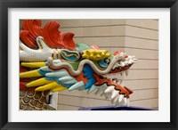 Framed Dragon Head, Goddess of Mercy temple, Hong Kong