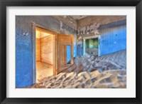 Framed Kolmanskuppe ghost town, Luderitz, Namibia, Africa