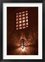 Framed Lantern Light, Kasbah Ait Ben Moro, Morocco