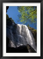 Framed Madonna and Child waterfall, Hogsback, South Africa