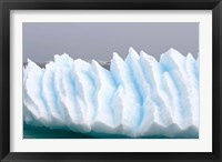 Framed Iceberg pattern off the western Antarctic peninsula