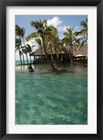 Framed Mauritius, Poste de Flacq. Belle Mare Plage resort