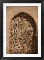 Framed Morocco Casablanca Palace, Moorish Architecture