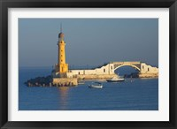 Framed Lighthouse, Alexandria, Mediterranean Sea, Egypt