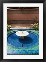 Framed Jardin Majorelle, Marrakech, Morocco, North Africa