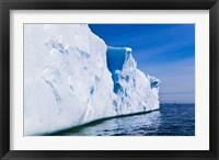 Framed Landscape of iceberg, American Palmer Station, Antarctica