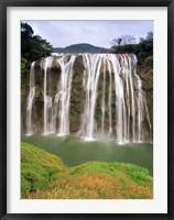 Framed Huangguoshu Falls, Anshun, Guizhou, China
