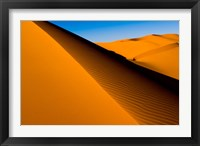 Framed Desert Dunes of the Erg Murzuq, Libya