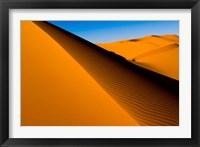 Framed Desert Dunes of the Erg Murzuq, Libya