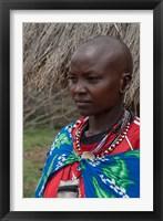 Framed Kenya, Mara River Expedition, Mara Escarpment portrait