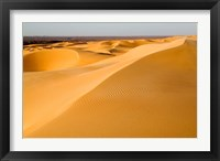 Framed Mauritania, Adrar, Amatlich, View of the desert