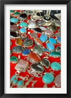 Framed Mauritania, Adrar, Chinguetti, Stones and jewellery
