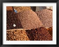 Framed Jemaa el-Fna market, Marrakech, Morocco