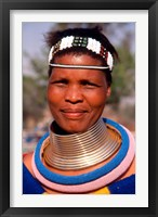 Framed Portrait of Ndembelle Woman, South Africa