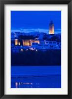 Framed MOROCCO, Rabat: Kasbah des Oudaias, Oued Bou Regreg