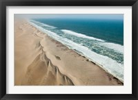 Framed Namibia, Skeleton Coast, Coastline