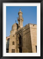 Framed Qait-Bey Muhamadi Mosque or Burial Mosque of Qait Bey, Cairo, Egypt