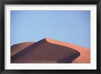 Framed Red Sand Dunes, Sahara