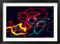 Framed Red, Yellow and Green Neon Lighting with Nightzoom