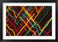 Framed V-Shaped Neon Colors and Lighting with Nightzoom