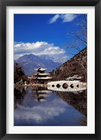 Framed Pagoda, Black Dragon Pool Park, Lijiang, Yunnan, China