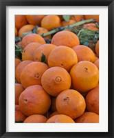 Framed Oranges for sale in Fes market Morocco