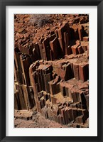Framed Organ Pipes rock formation, Damaraland, Namibia, Africa.