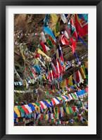 Framed Prayer Flags, Thimphu, Bhutan