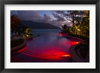Framed Resort, Pool, Northolme Hotel, Mahe Island, Seychelles