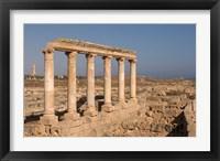 Framed Columns, Sabratha Roman Site, Tripolitania, Libya