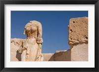 Framed Headless Statue, Sabratha Roman Site, Tripolitania, Libya