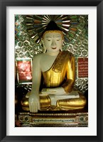 Framed Soon U Ponya Shin Paya, Sagaing Hill, Sagaing, Myanmar