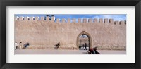 Framed Square in Ancient Walled Medina, Essaouira, Morocco