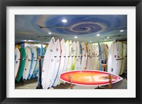 Framed Surf shop, Jeffrey's Bay, South Africa