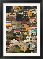 Framed Suburb of Bo-Kaap, Cape Town, South Africa