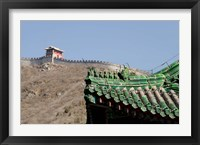 Framed Great Wall of China at Juyongguan, Beijing, China